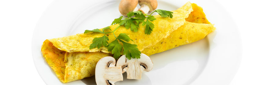 Champignon omelet proteinedieet Proday