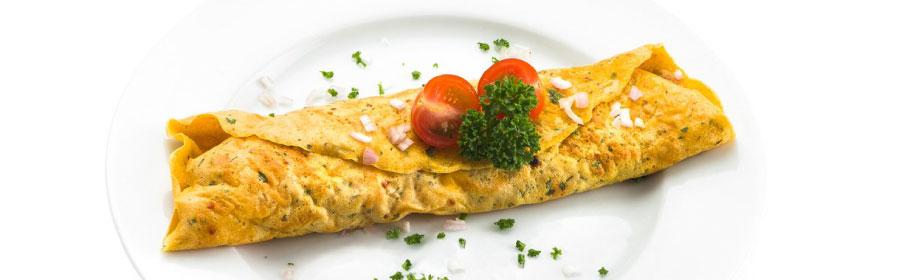 Gevulde omelet mediterraan proteinedieet Proday